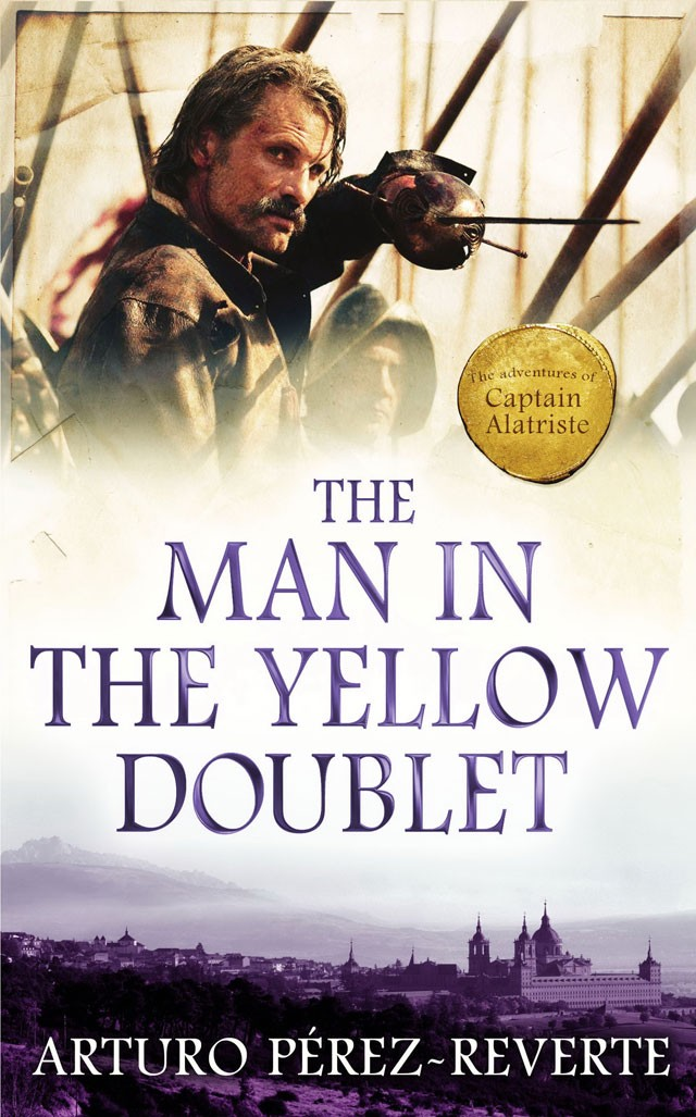 Portada de El caballero del jubón amarillo (The Man in the Yellow Doublet)